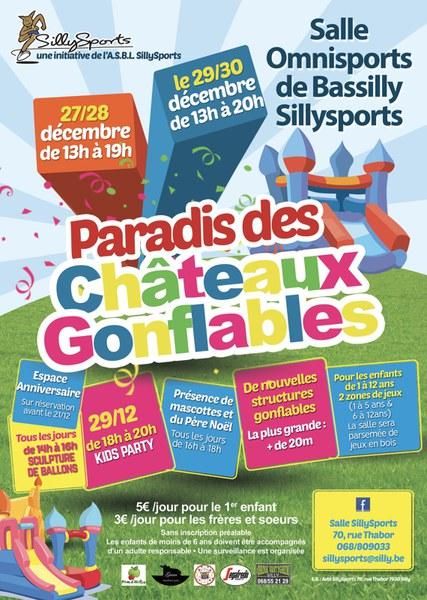 Le paradis des Châteaux gonflables
