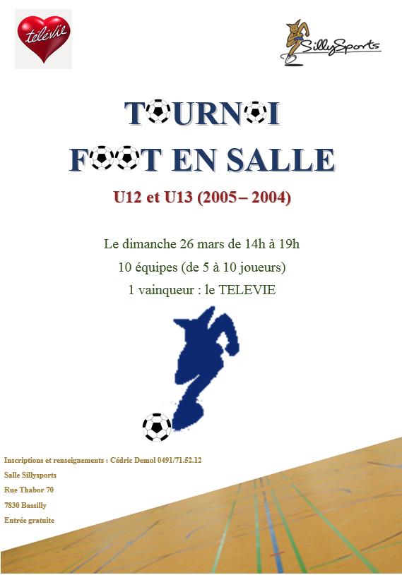 tournoi minifoot télévie 2017