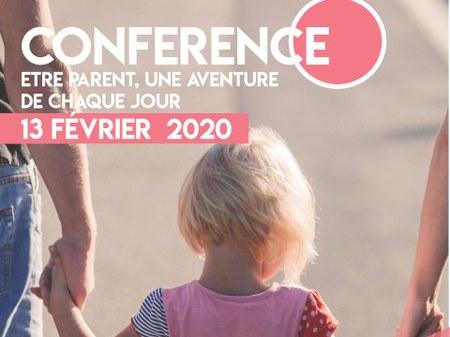 """Conférence le 13/02 : """"Etre parent, une aventure chaque jour"""""""