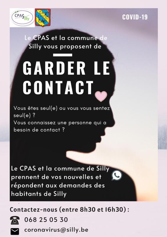 COVID 19 CPAS et commune garder contact page 001