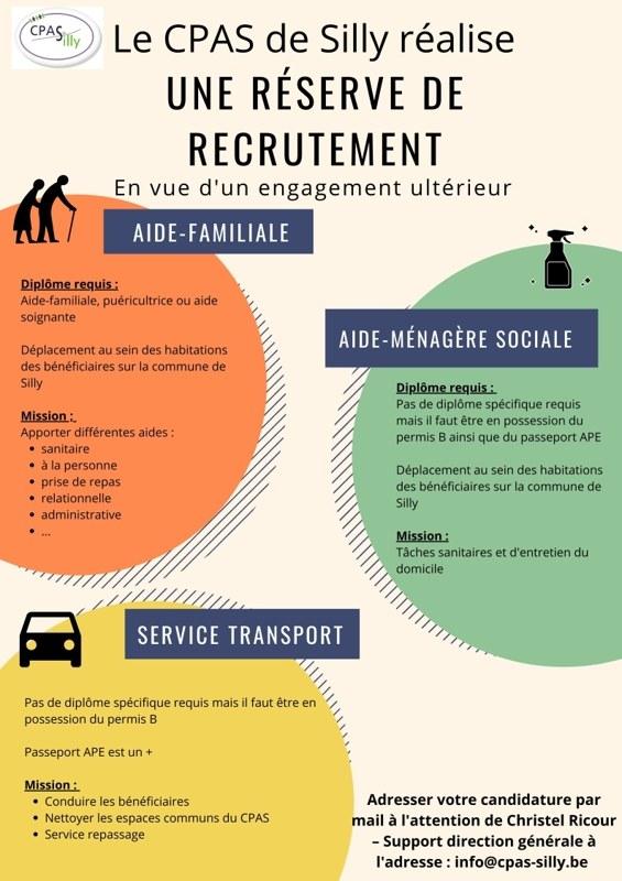 Réserve de recrutement